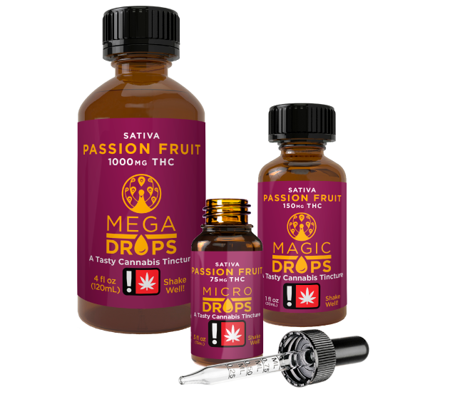 Passiont Fruit Cannabis Tinctures