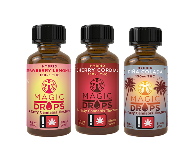 Special edition flavors Cannabis Tincture Magic Number