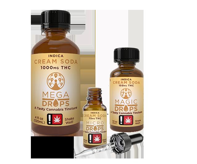 Magic Number Cream Soda Indica Live Resin Tincture family